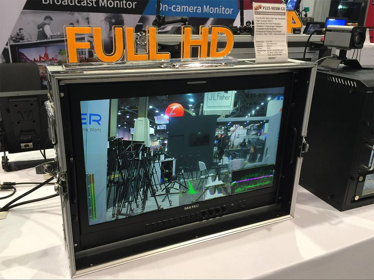 215 inch carry-on production monitor waveform