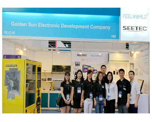 2018 HKTDC Show | SEETEC/ FEELWORLD bring 4K Monitor/ Industrial Display attend