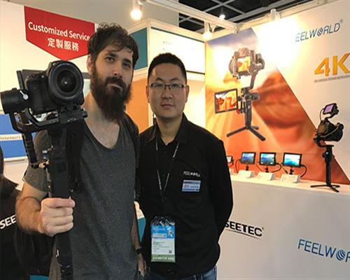 "2019 Hong Kong HKTDC ""Feast"", camera monitor / industrial display unveiled at the show"