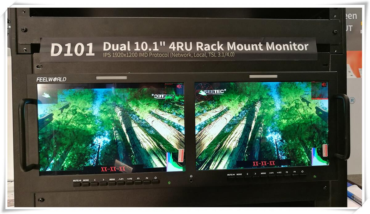 dual video monitor