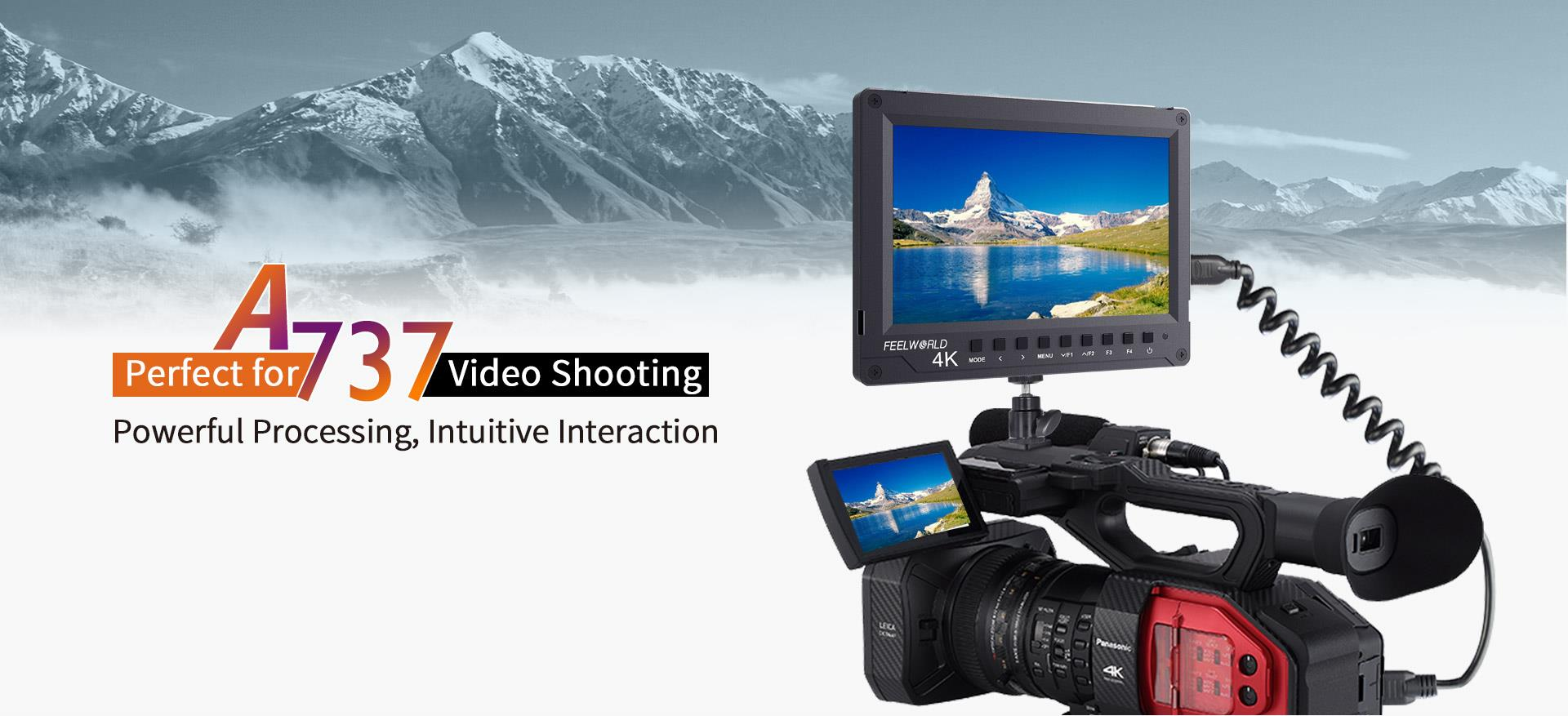 7 inch full hd lcd monitor for video shooting