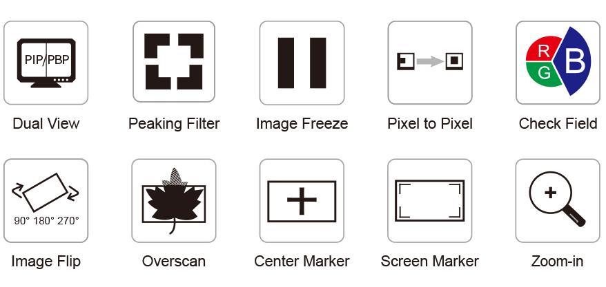 Monitor 4K 10.1 inch Feelworld