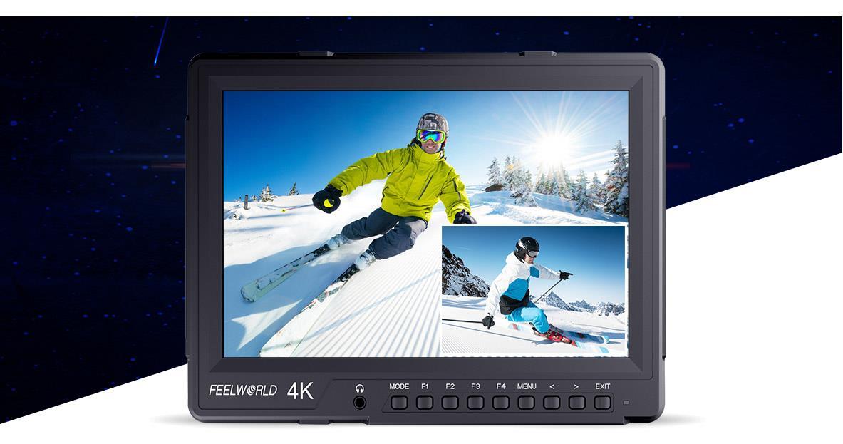 màn hình phụ quay phim feelworld 4K