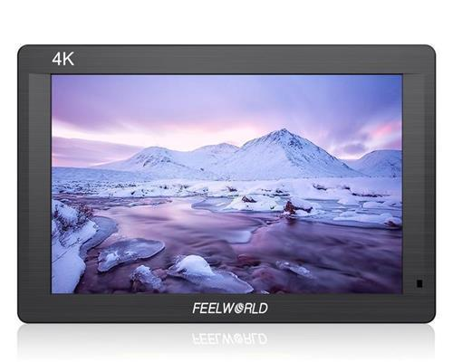 FEELWORLD FH7 7'' 4K On-camera Monitor with HDMI Input/ Output IPS Full HD 1920x1200