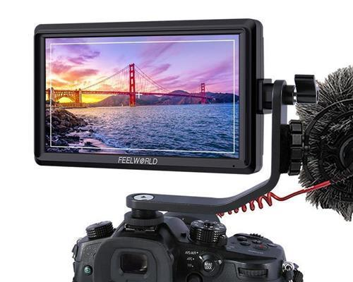 FEELWORLD FW568 5.5 Inch 4K DSLR Camera Field Monitor IPS Full HD 1920x1080 Support HDMI Input Output Tilt Arm Power Output