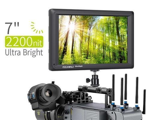 FEELWORLD FW279S 7 Inch 2200nit Daylight Viewable Camera Field Monitor 3G-SDI 4K HDMI Input  Output 1920X1200 IPS Panel