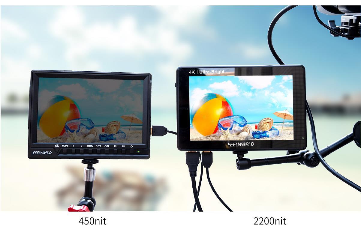 2200nits light sensor monitor