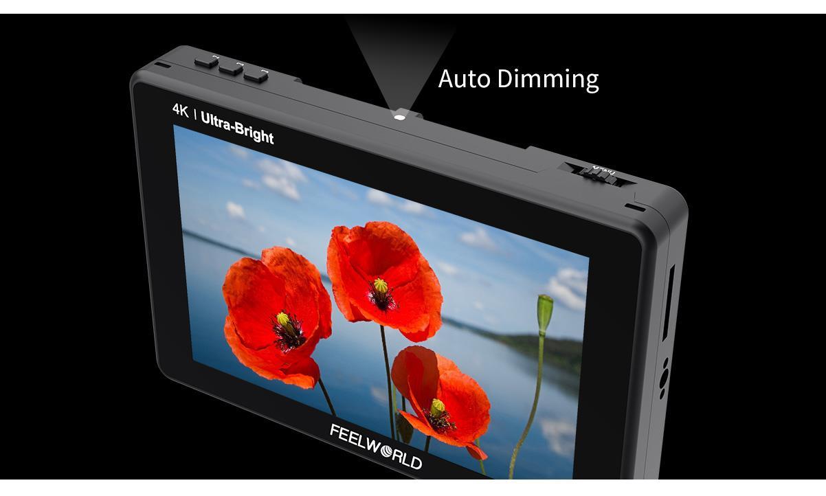 light sensor field camera monitor