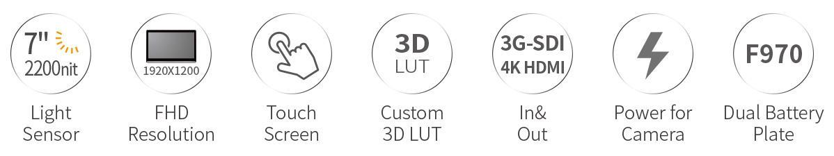lut7s 3d-lut monitor