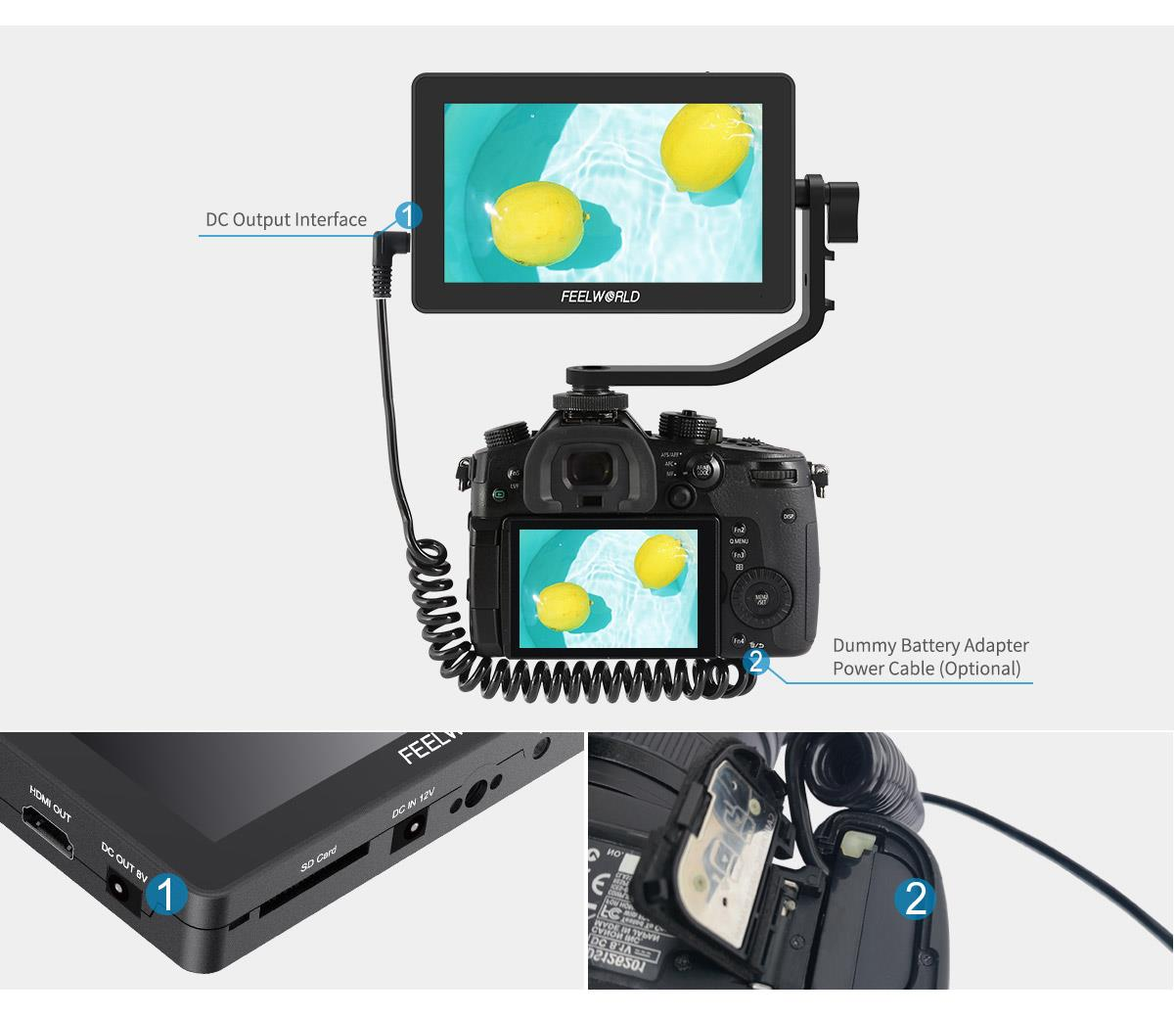 monitor hdmi dslr