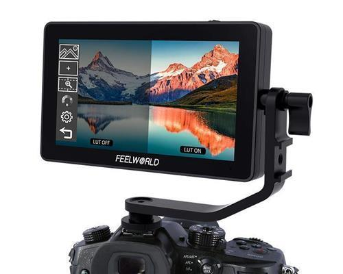 FEELWORLD F6 PLUS 5.5 Inch 3D LUT Touch Screen DSLR Camera Field Monitor  IPS FHD1920x1080 Support 4K HDMI Input Output Tilt Arm Power Output