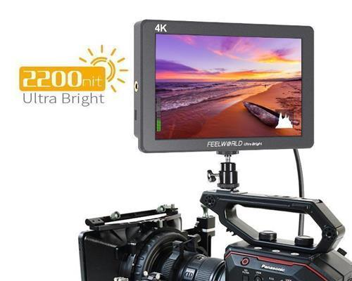 FEELWORLD P7S 7 Inch 2200nit Daylight Viewable Camera Field Monitor Rugged Aluminum Design 3G-SDI 4K HDMI Input  Output 1920X1200 IPS Panel