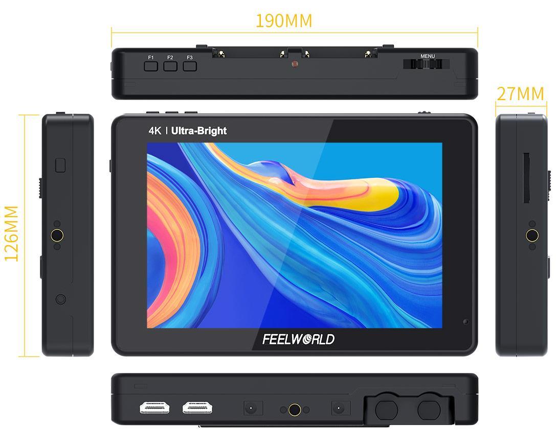 4 in camera monitor