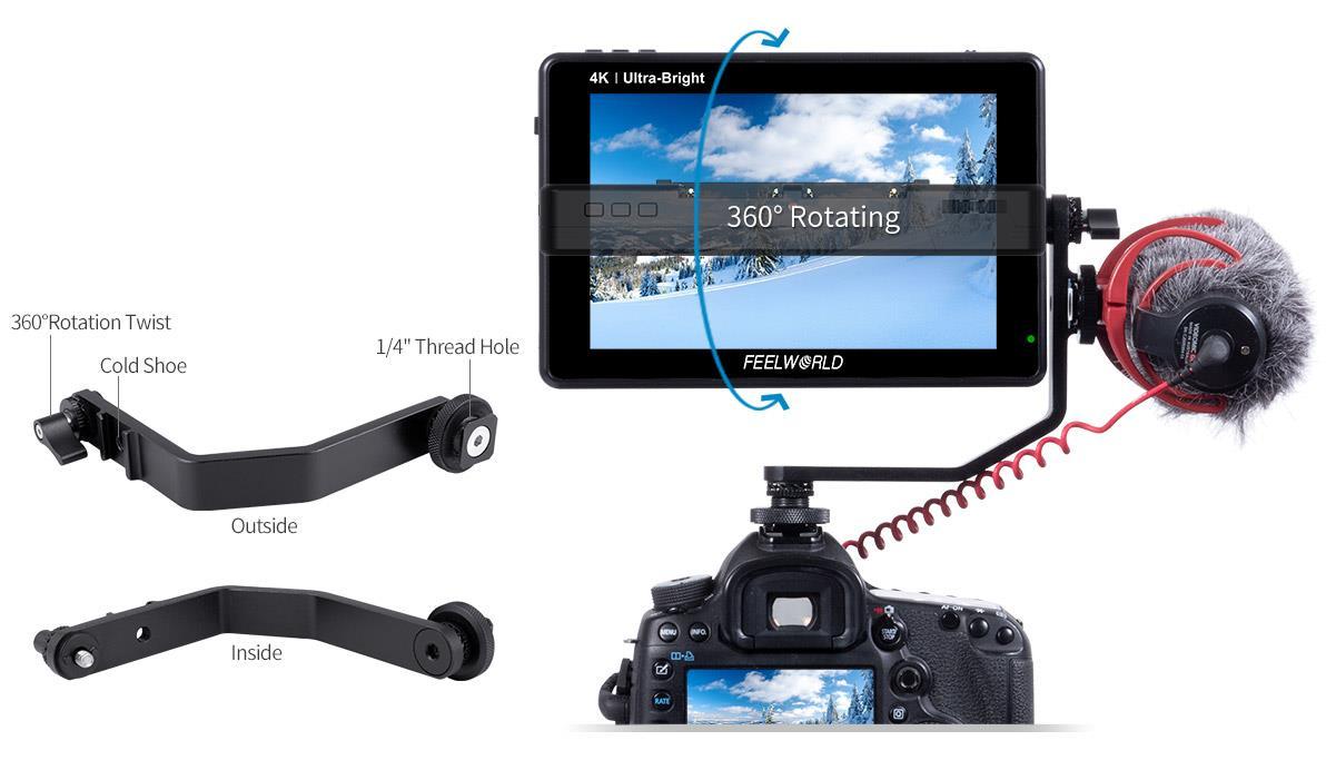 4k camera monitor lcd