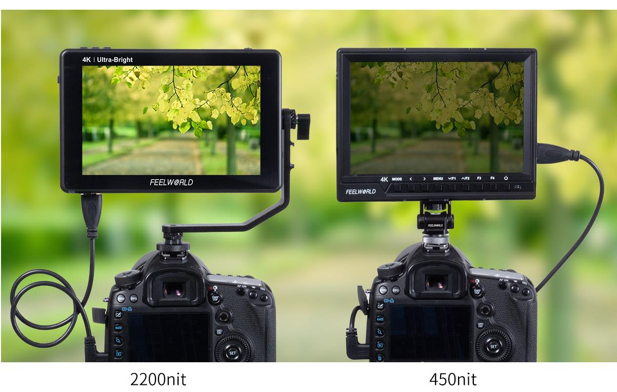 4k dslr screen monitor