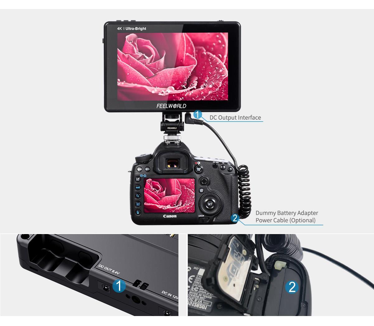 4k on-camera monitor