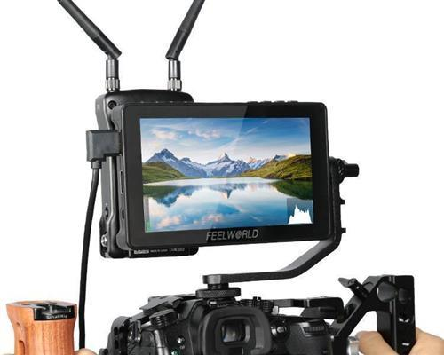FEELWORLD F5 Pro V2  5.5 Inch Touch Screen DSLR Camera Field Monitor  3D LUT  4K HDMI Input Output Tilt Arm Power Output F970 Install and Power Kit to External Wireless transmission LED Light