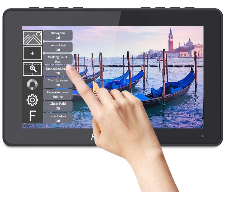 5.5 inch touch screen field monitor
