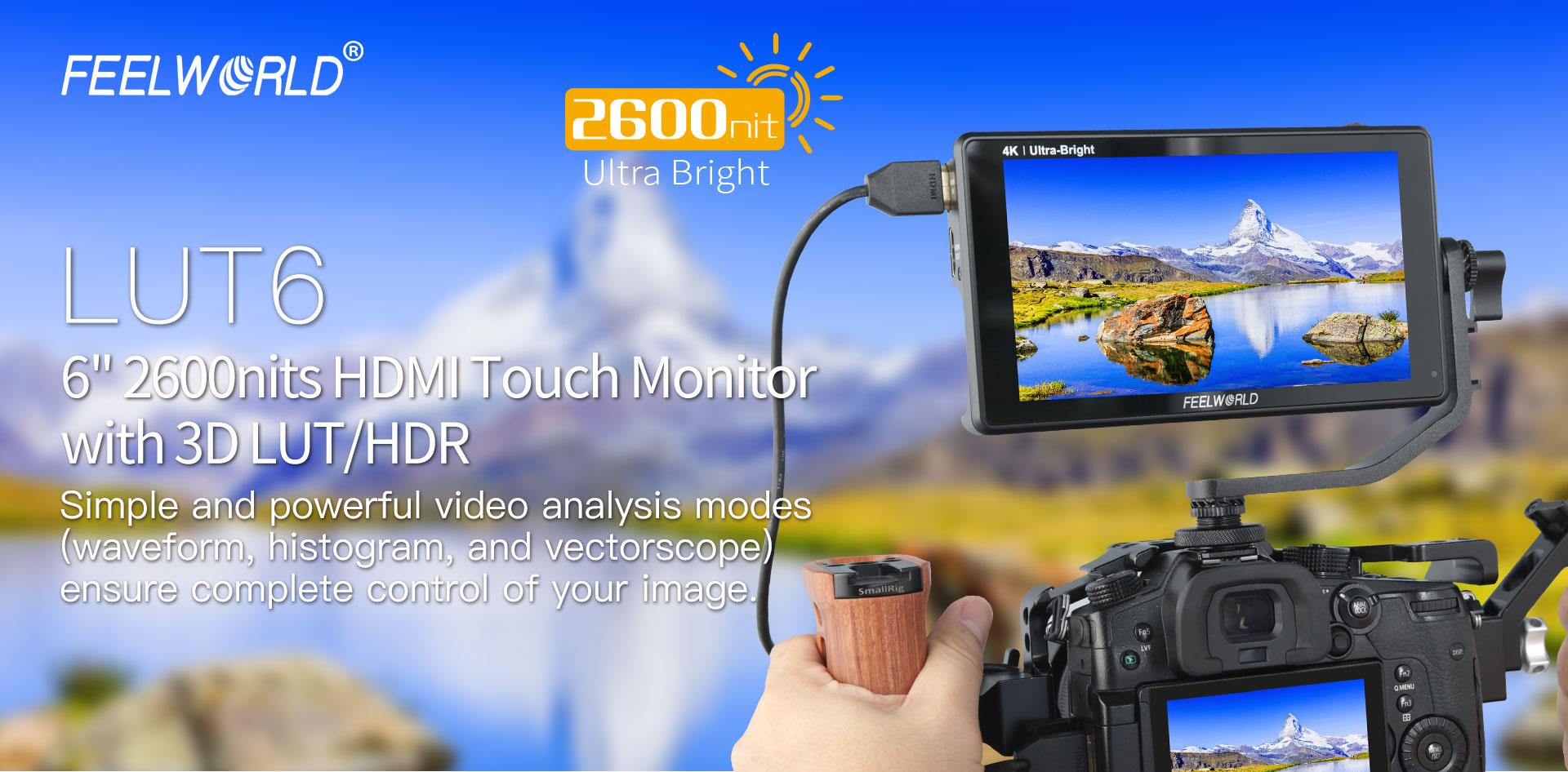 hdmi touch monitor