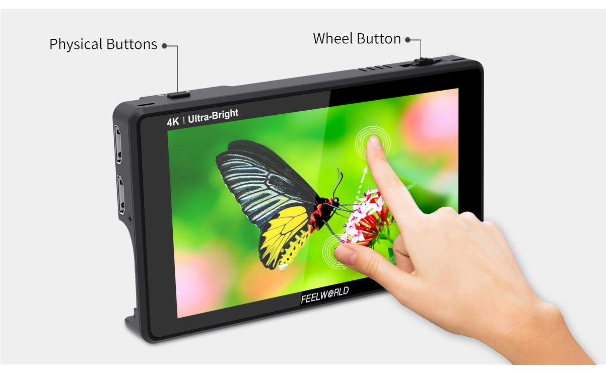 monitor with touch screen
