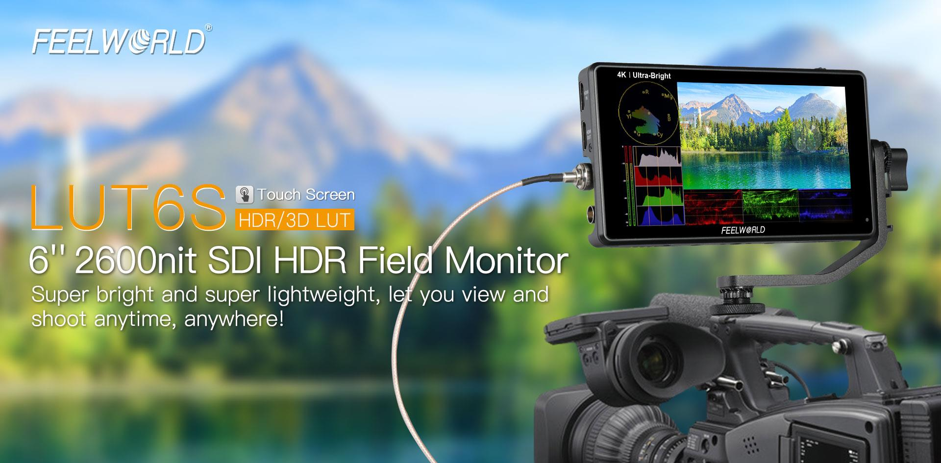 ultra brightess camera monitor
