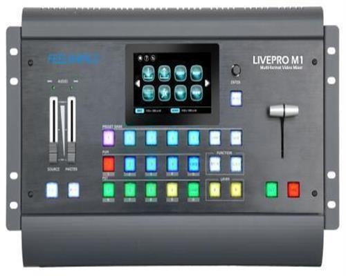 FEELWORLD LIVEPRO M1 4 Chanel HD Director Switcher  On Demand Video Mixer and Scaling
