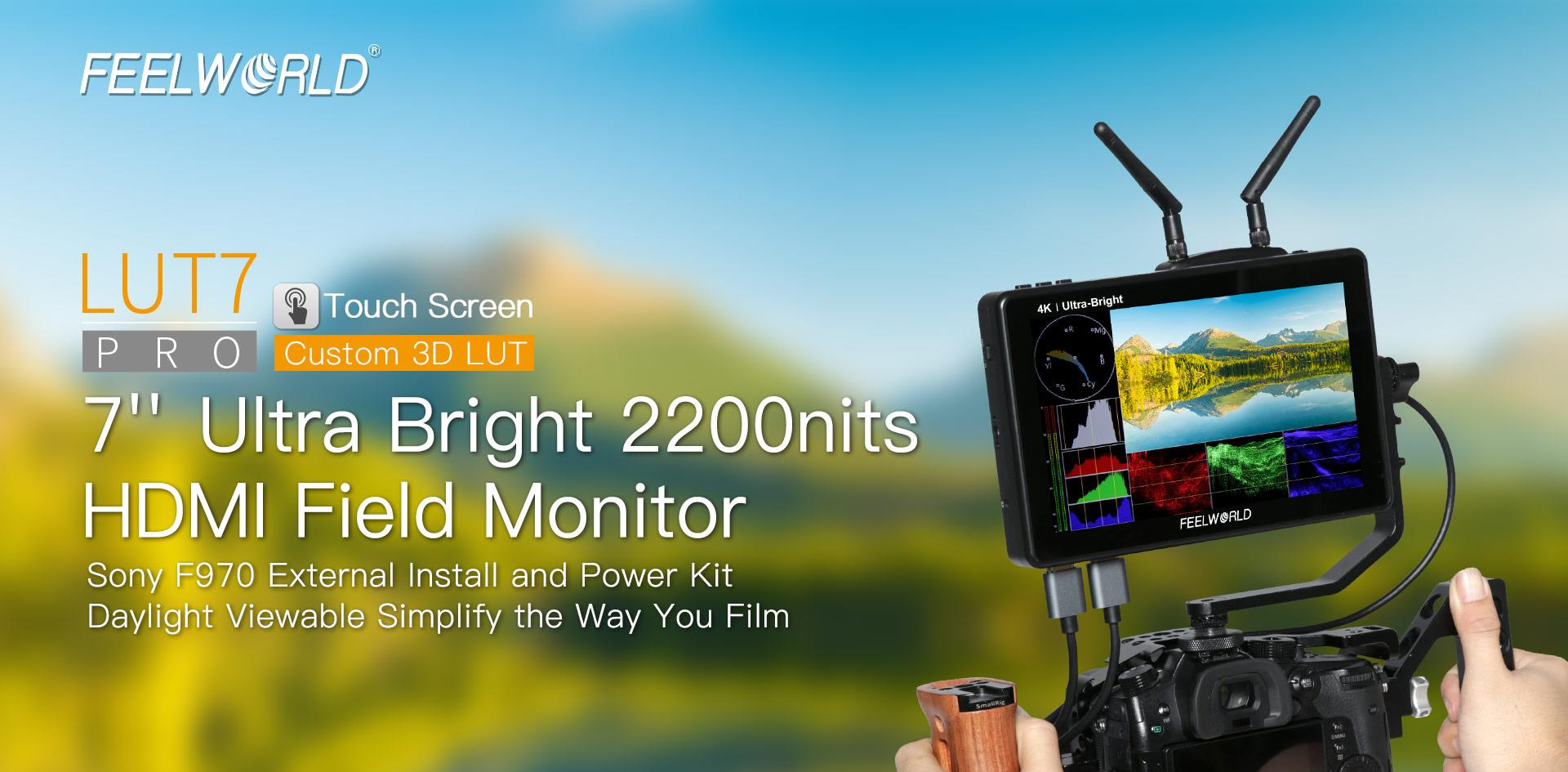 LUT7PRO director monitor