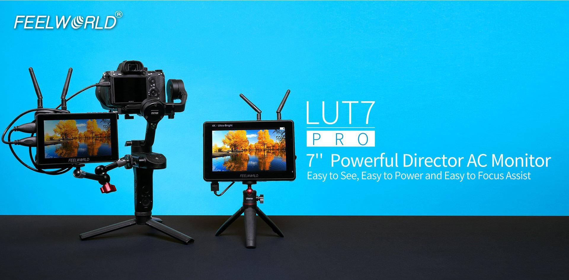 LUT7PRO director photography monitor