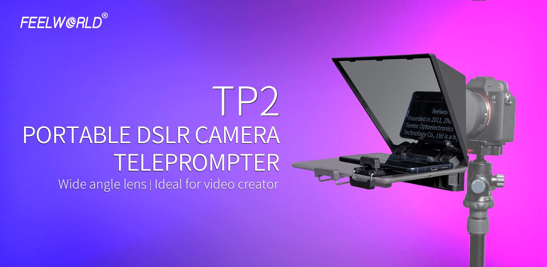 dslr camera teleprompter