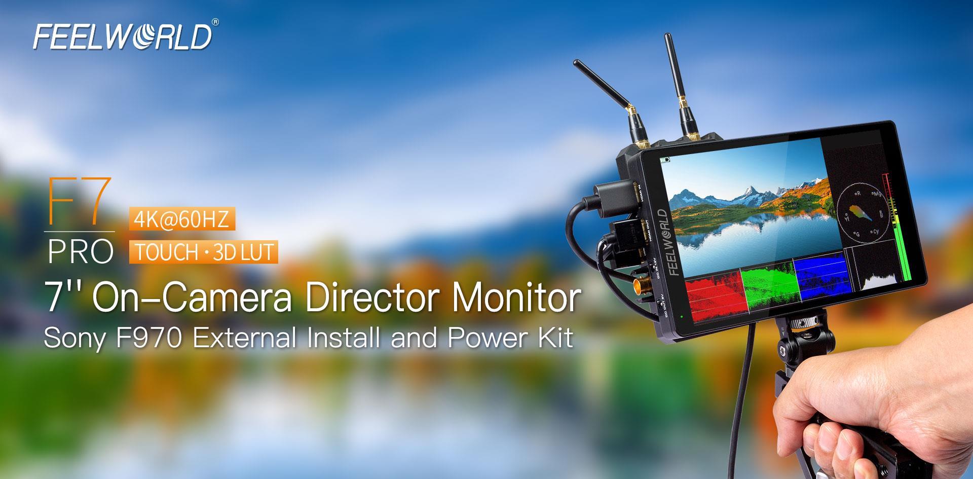 7 inch director monitor