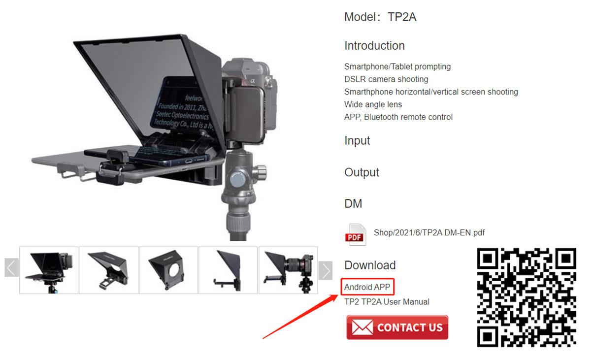 app control teleprompter