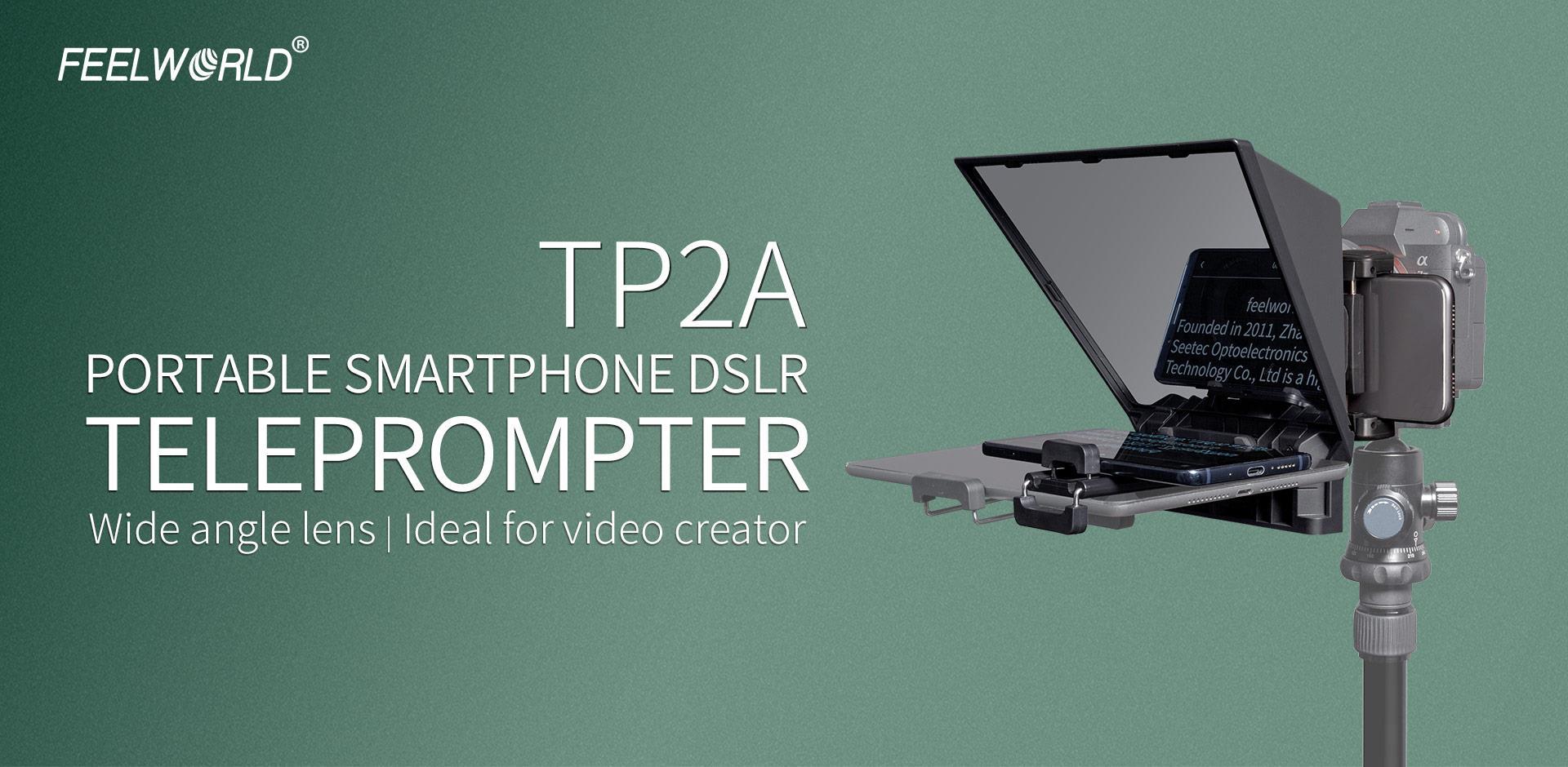 phone dslr teleprompter
